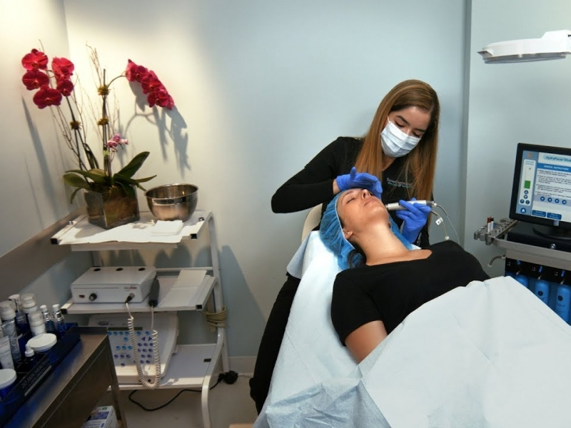 Hydrafacial at Sunset Dermatology in South Miami