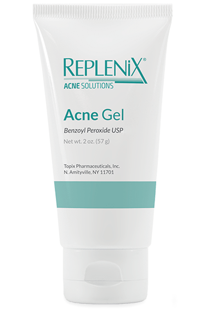 Replenix Acne Gel at Sunset Dermatology in South Miami.