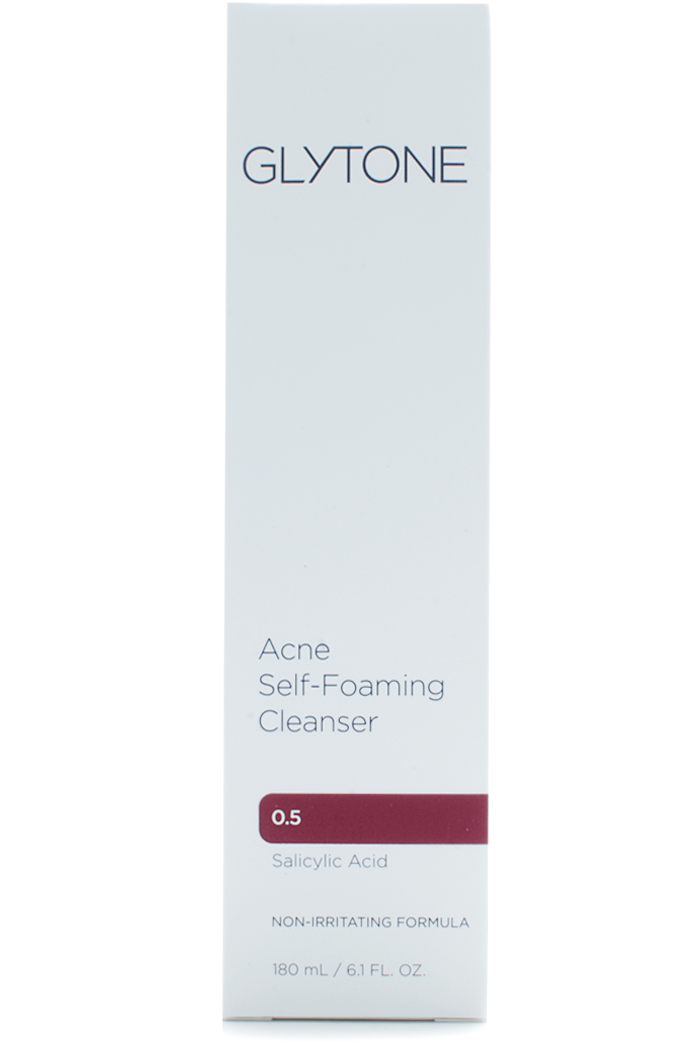 Glytone Acne Self-Foaming Cleanser 0.5 at Sunset Dermatology in South Miami.