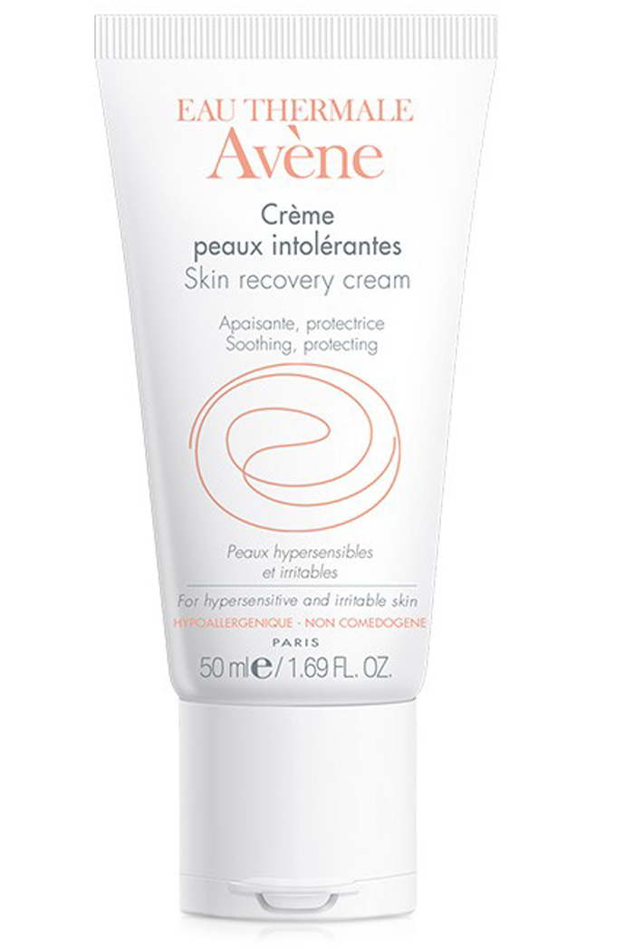 Avene Skin Recovery Cream at Sunset Dermatology in South Miami.