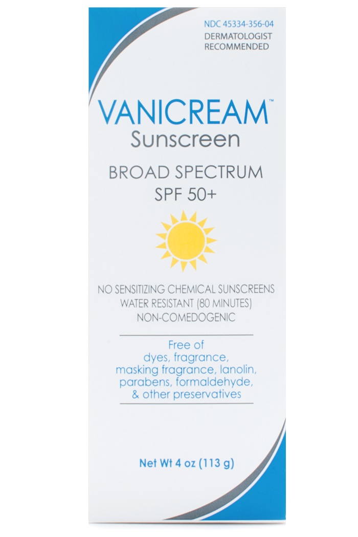 Vanicream Sunscreen SPF 50+ at Sunset Dermatology