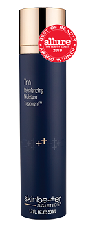 Heavy hydration without the weight.  Patented formulation that uniquely brings balance back to dry, aged skin.