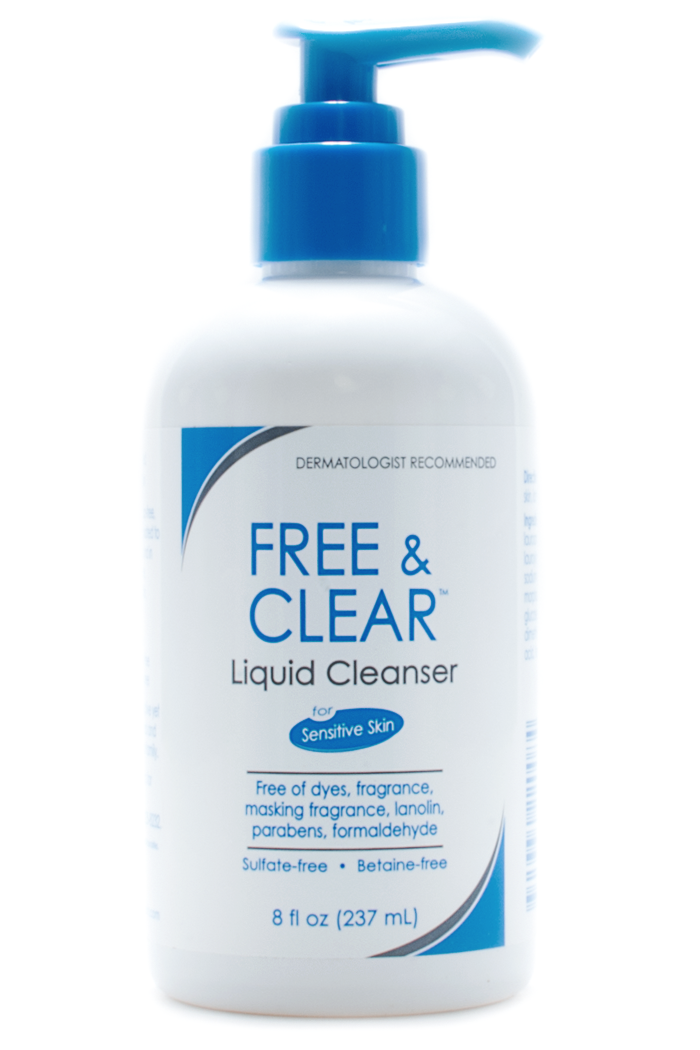 Vanicream Free & Clear Liquid Cleanser at Sunset Dermatology in South Miami.