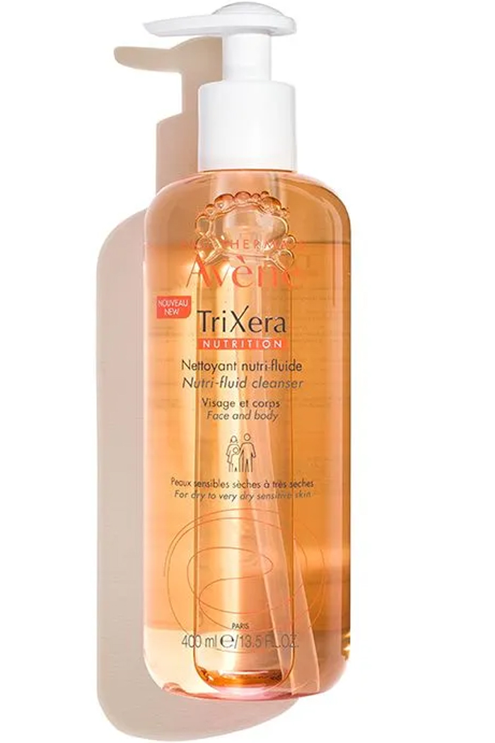 Biodegradable, soap-free formula gently cleanses and nourishes even the most sensitive skin.