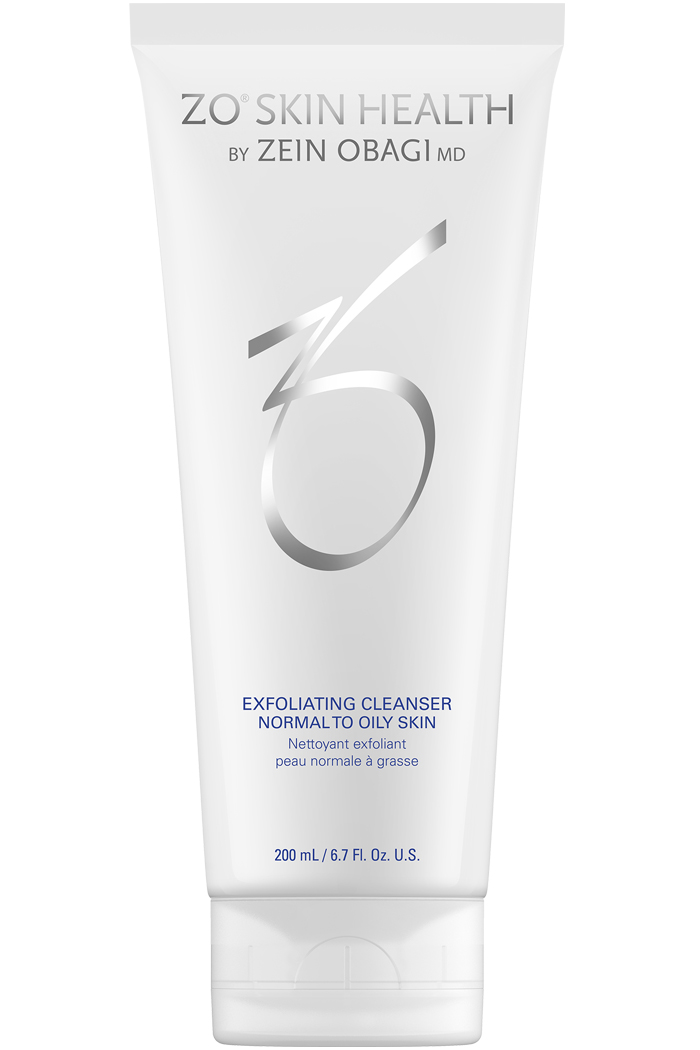 Gentle exfoliating cleanser for normal to oily skin that targets surface oil leaving the skin feeling clean, but not stripped and dry.