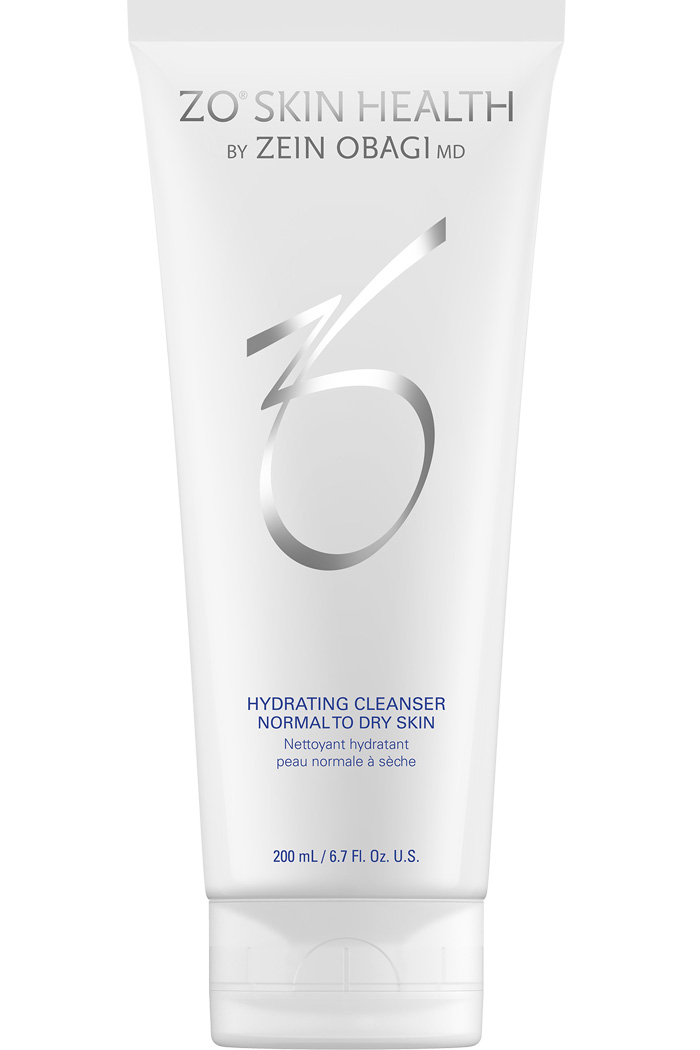 Dual action cleanser for normal to dry skin