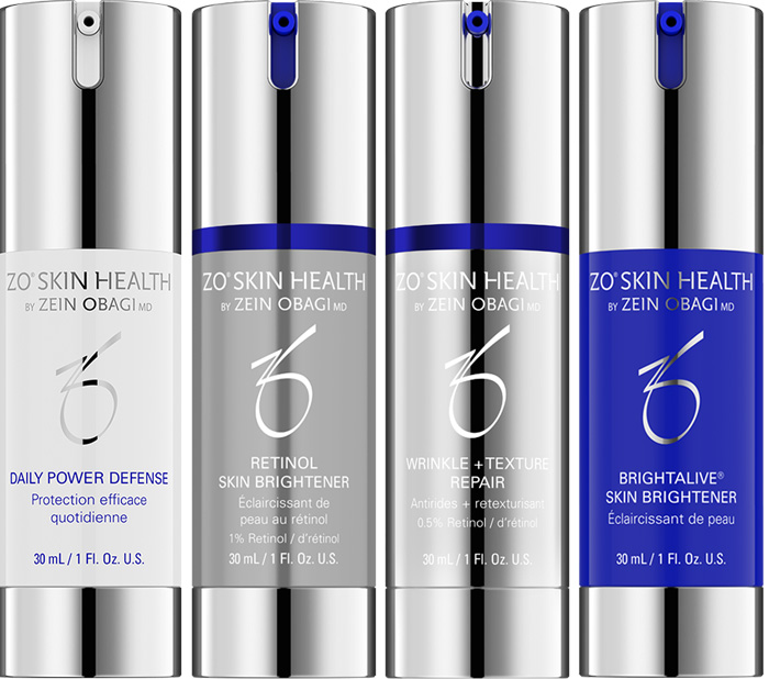 A multi-product, skin therapy system designed for the visible treatment of hyperpigmentation appearance without the use of hydroquinone.