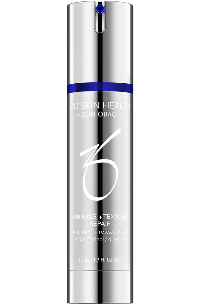Featuring a microemulsion delivery system, Wrinkle + Texture Repair is a high-potency retinol that reactivates the process of skin renewal to restore natural hydration, visibly improving the appearance of wrinkles and refining skin texture.